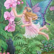 The Fairy Princess Jasmine  Art Print