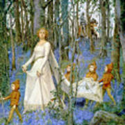 The Fairy Wood Art Print by Henry Meynell Rheam
