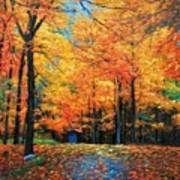 The Fall At Best Art Print