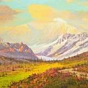 The Fall Colors Of Alaska Route 8 No.3 Art Print