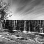 The Falls At Yates Mill II Art Print