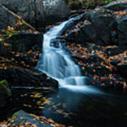 The Falls Of Black Creek In Autumn II Art Print