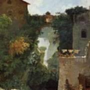 The Falls Of Tivoli Art Print