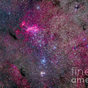 The False Comet Cluster Area Art Print