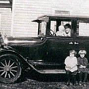 The Family Car Art Print