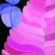 The Fan Flower - Tillandsia Art Print