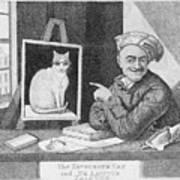 The Favourite Cat And De La Tour The Painter Art Print