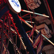 The Ferris Wheel Art Print