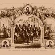 The Fifteenth Amendment And Its Results Art Print
