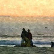 The Final Sunset Art Print