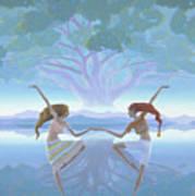 The First Dance Art Print