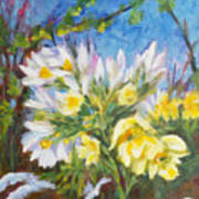 The First Flowers After Winter Art Print