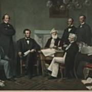 The First Reading Of The Emancipation Print by Everett