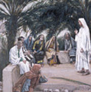 The First Shall Be The Last Art Print by Tissot