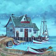 The Fish House Art Print