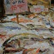 The Fish Market Art Print