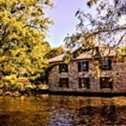 The Fishery At Dykeman Manor Art Print