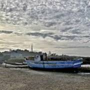 The Fixer-upper, Brancaster Staithe Art Print by John Edwards