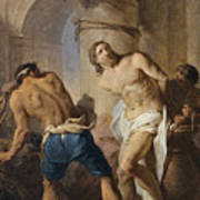 The Flagellation Of Christ Art Print