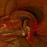 The Flame Art Print