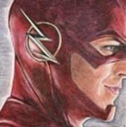 The Flash / Grant Gustin Art Print