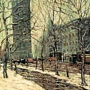 The Flatiron Building 2 Art Print