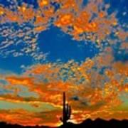 The Flavor Of The Sky Art Print