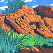 The Flicker Trail Art Print