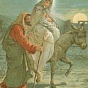 The Flight Into Egypt Print by John Lawson