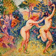 The Flight Of The Nymphs Art Print