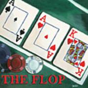 The Flop Art Print
