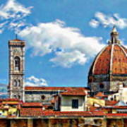 The Florence Cathedral Art Print