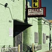 The Flores Motel Art Print
