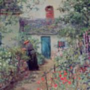 The Flower Garden Art Print