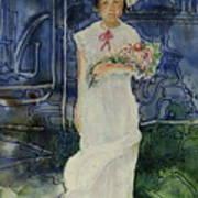 The Flower Holder Art Print