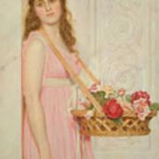 The Flower Seller Art Print