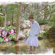 The Flowering Brook Art Print
