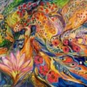 The Flowers Of Sea Art Print