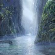 The Flowing Of Time Art Print