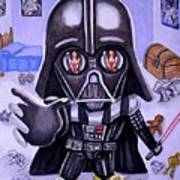 The Force Is Strong With This One Art Print