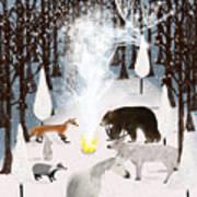 The Forest Guardians Art Print