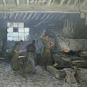 The Forge Art Print