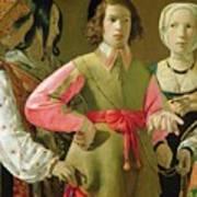 The Fortune Teller Print by Georges de la Tour