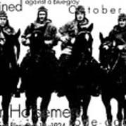 The Four Horsemen Of Notre Dame Art Print