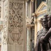 The Four Tetrarchs In Venice Art Print