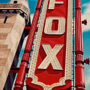 The Fox Theater Art Print