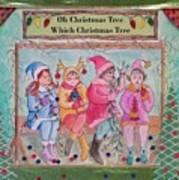 The Friends - Oh Christmas Tree Art Print