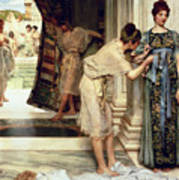 The Frigidarium Art Print by Sir Lawrence Alma-Tadema