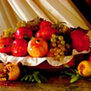 The Fruits Of Caravaggio Art Print