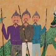The Fu Man Brothers Art Print